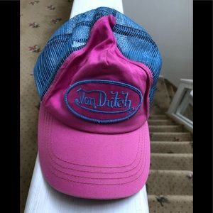 Vintage Von Dutch original cap
